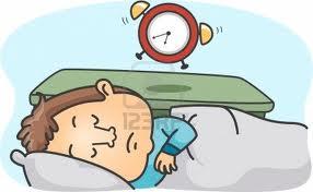 quedarse dormido