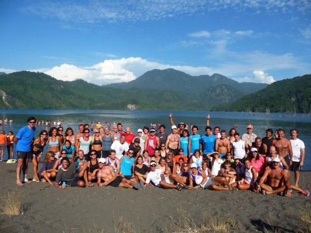 Mi running team Correrayuda en el Cruce de los Andes 2014