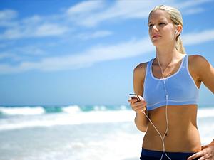 correr con musica