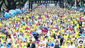maraton multitud
